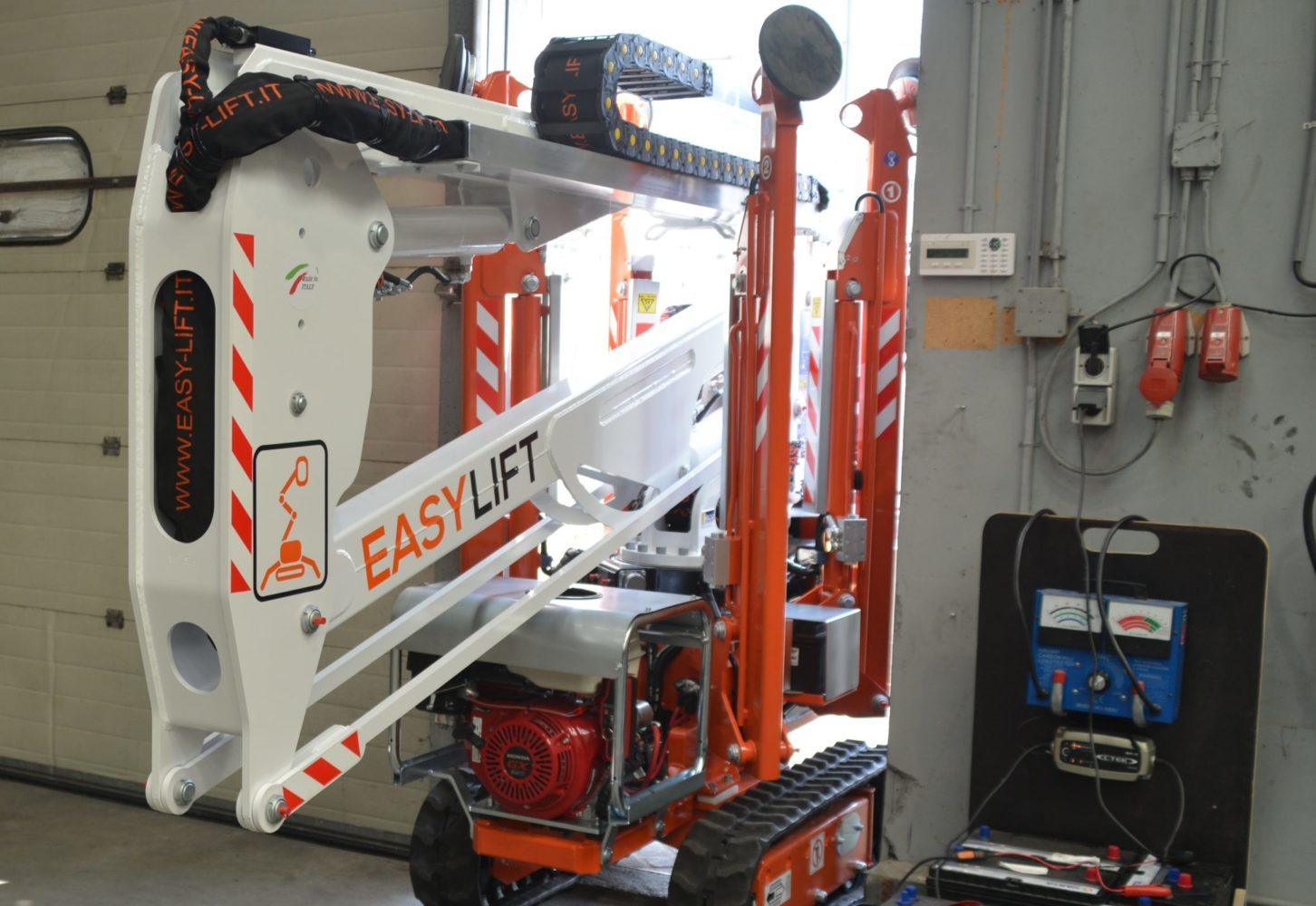 Eastylift R130_Transportafmetingen