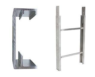 Ladderdeel 250 kg 1.00m