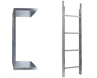 Ladderdeel 200 kg 2.00m