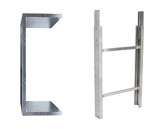 Ladderdeel 200 kg 1.00m