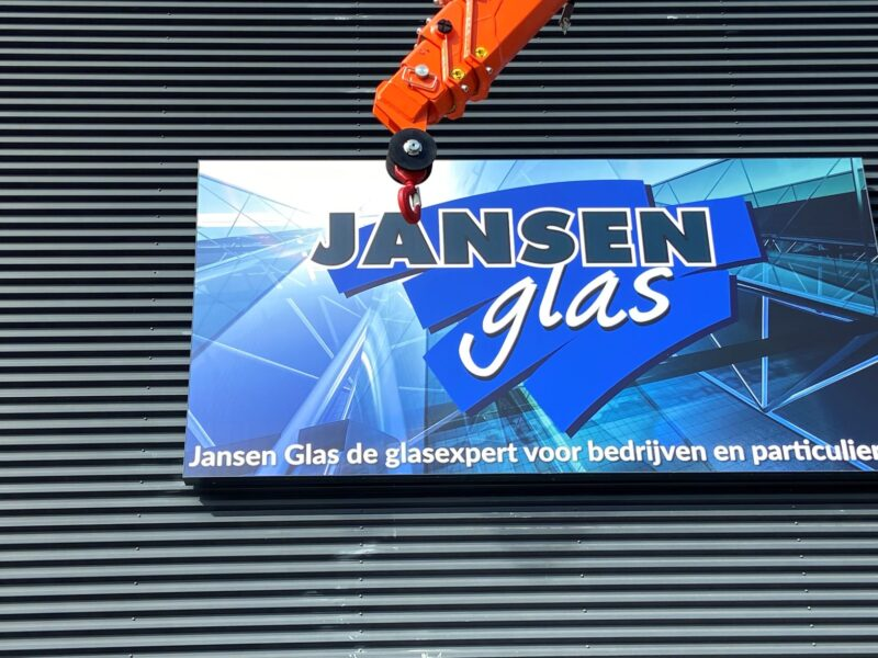 Jansen Glas minihijskraan